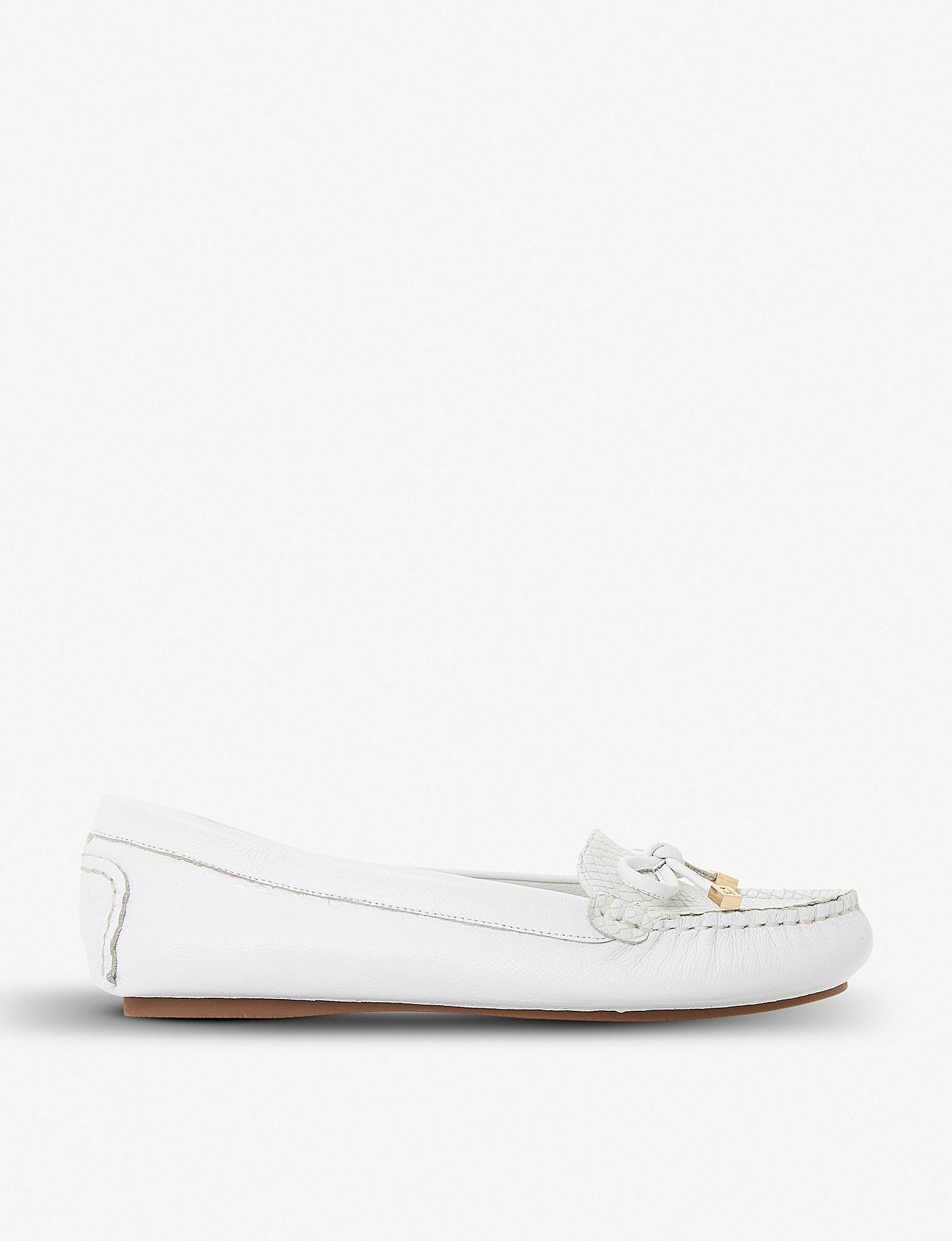 White leather 'Geenova' loafers very cheap cheap sale countdown package cheap sale popular release dates authentic LJHSR