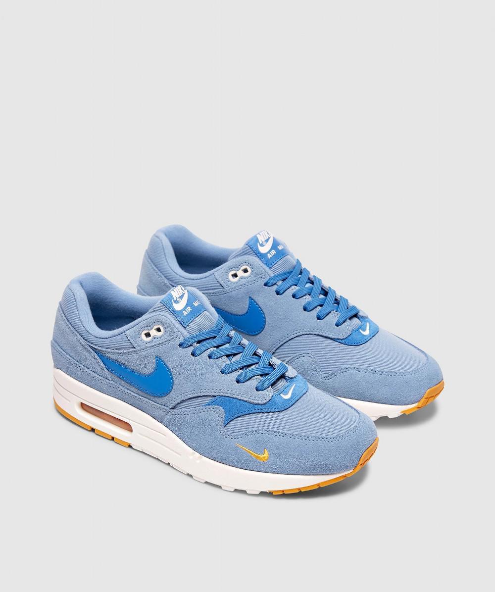 8cb36bd651 Lyst - Nike Air Max 1 Premium Sneaker in Blue for Men