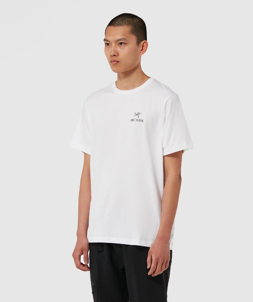 83b84bf5 Lyst - Arc'teryx Emblem T-shirt in White for Men