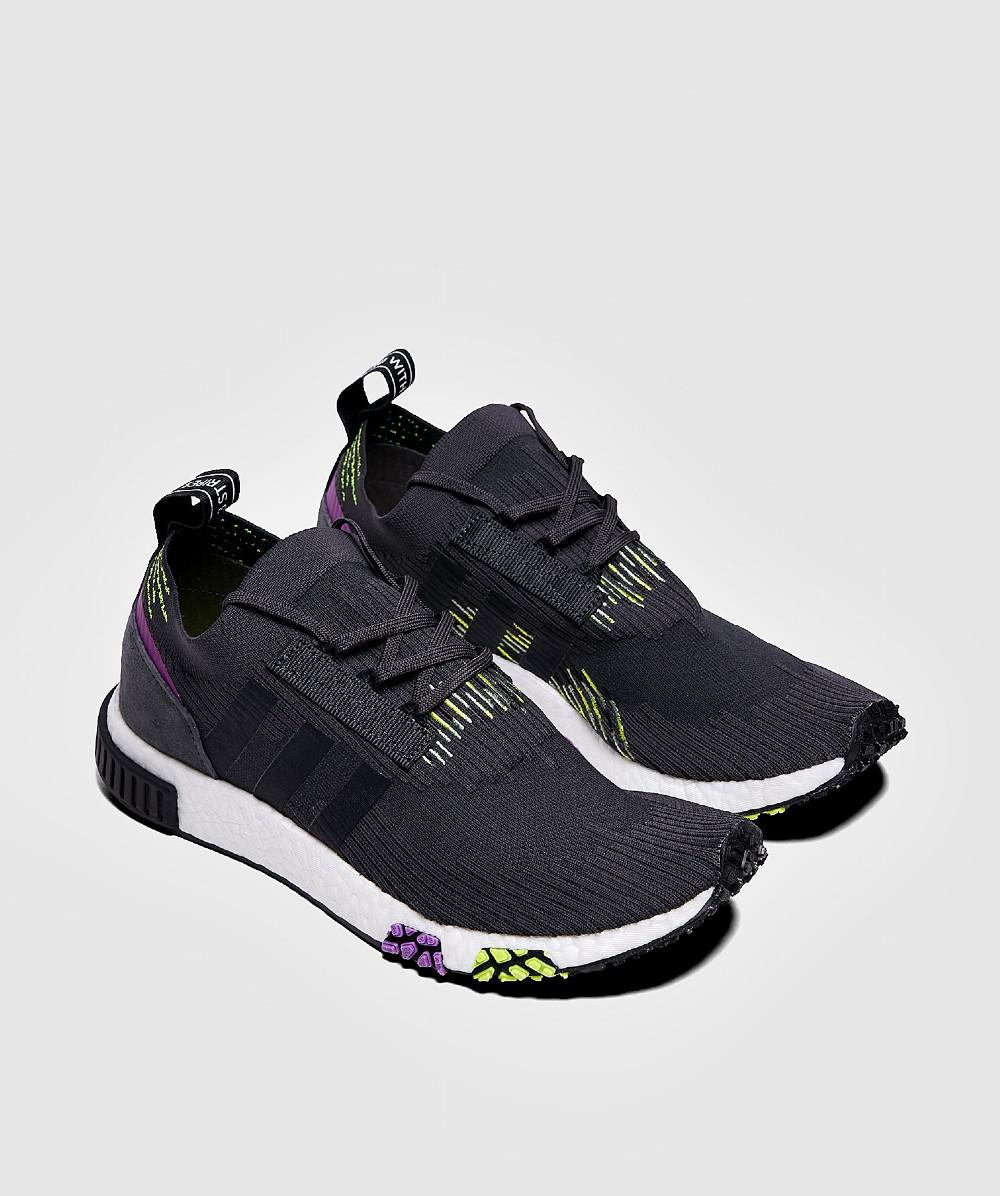 ec9cb7100c43 Lyst - adidas Originals Adidas Nmd Racer Primeknit Carbon  Core Black   Solar Yellow in Blue for Men - Save 60%