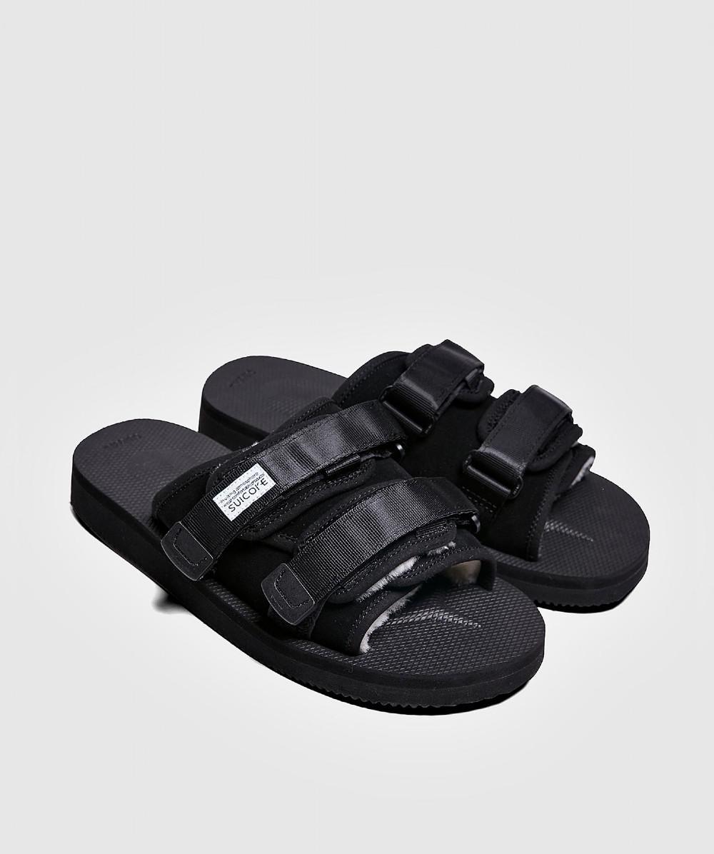 00849600286 Lyst - Suicoke Moto Mab Vibram Sandal Black in Black for Men
