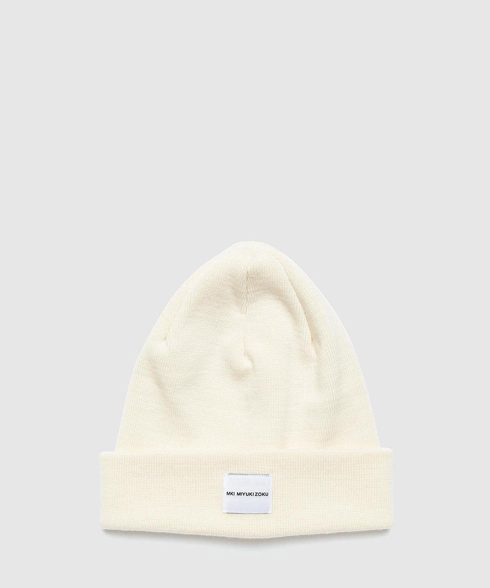 Mki Miyuki-Zoku Merino Beanie in White for Men - Lyst 3841180507aa