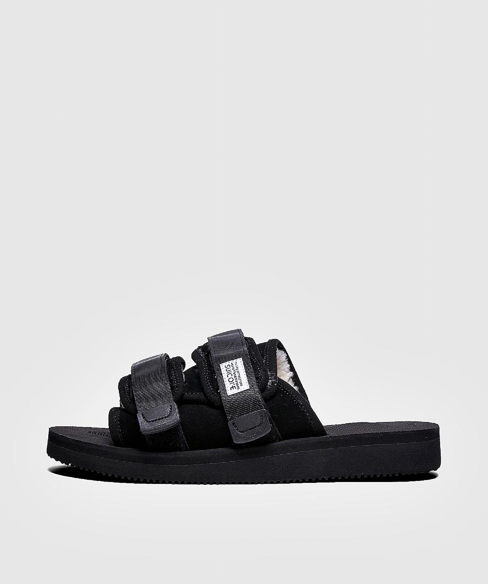 5574704ec52 Suicoke Moto Mab Vibram Sandal Black in Black for Men - Save 9% - Lyst