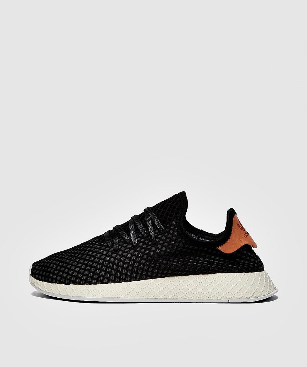 c1d8b8cc5fb Adidas Deerupt Runner Sneaker in Black for Men - Lyst
