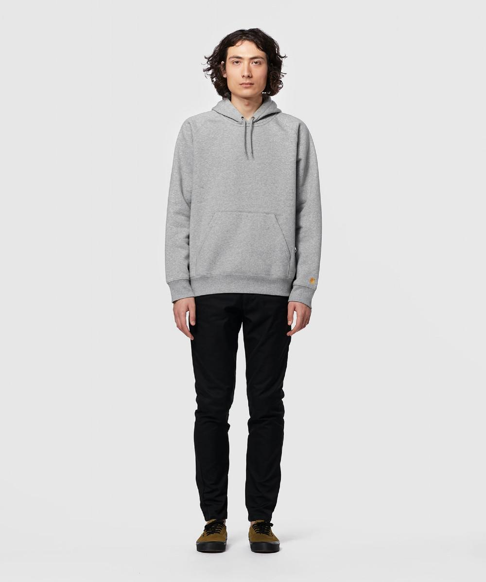 752a6b44 Lyst - Carhartt WIP Hooded Chase Sweatshirt in Gray for Men - Save 16%