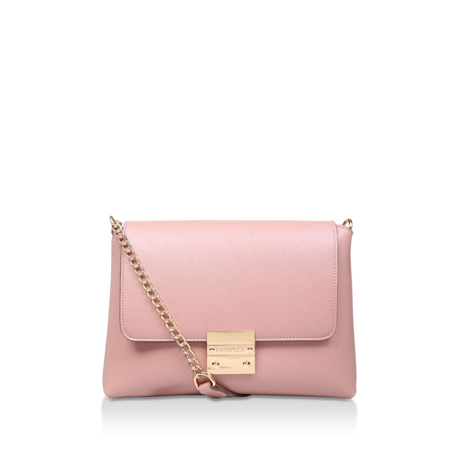 68e6e296298 Carvela Kurt Geiger - Pink Blink Chain Handle Bag - Lyst. View fullscreen