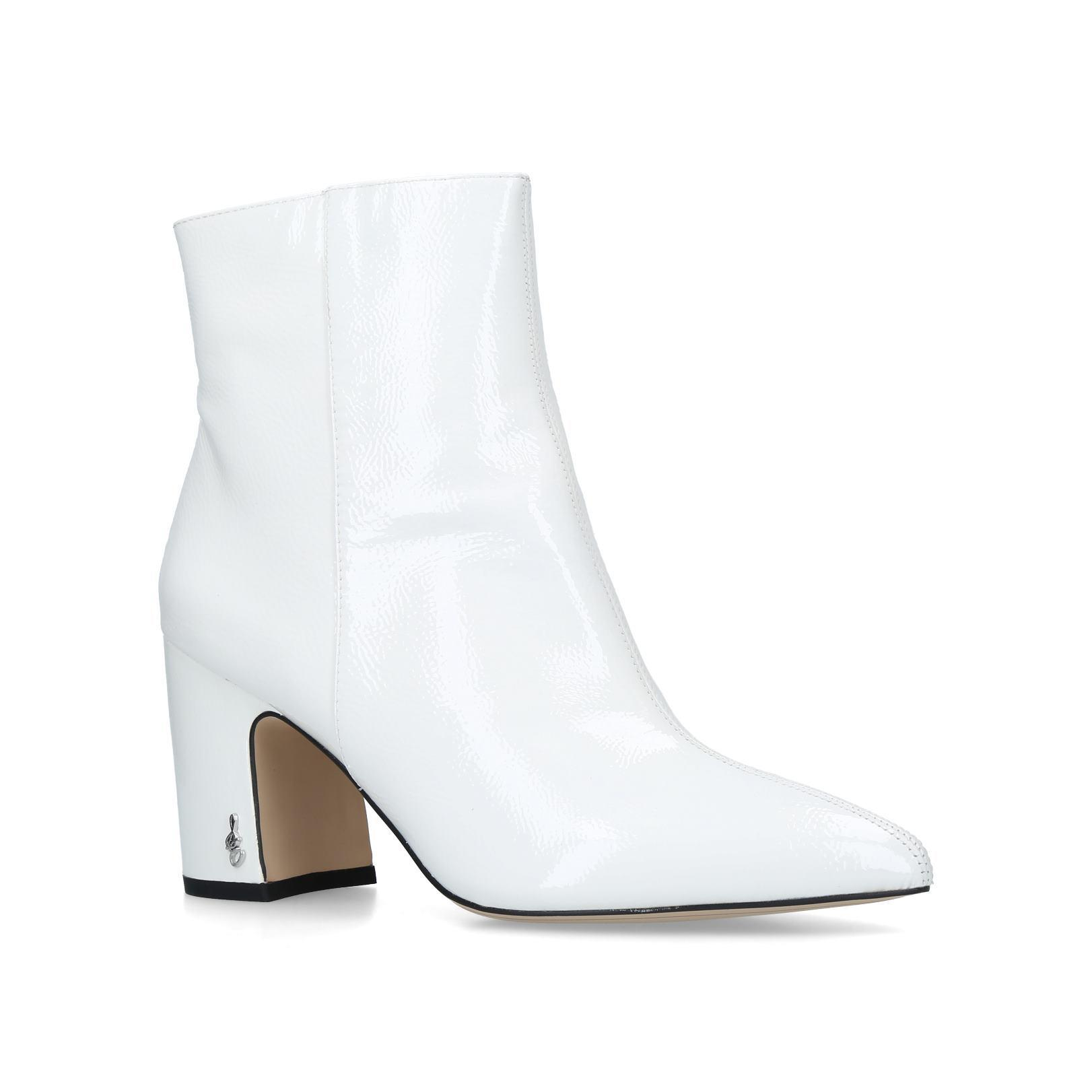 35c8358c589 Sam Edelman Hilty Ankle Boot in White - Lyst