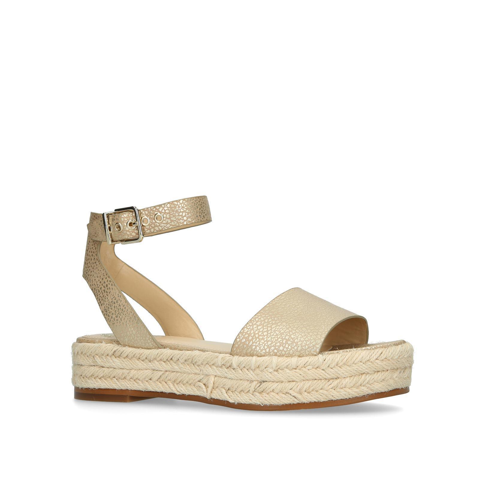 low shipping fee sale online cheap sale 100% original Gold 'Kathalia' flatform sandals sale big sale cheap sale countdown package 4dqDm