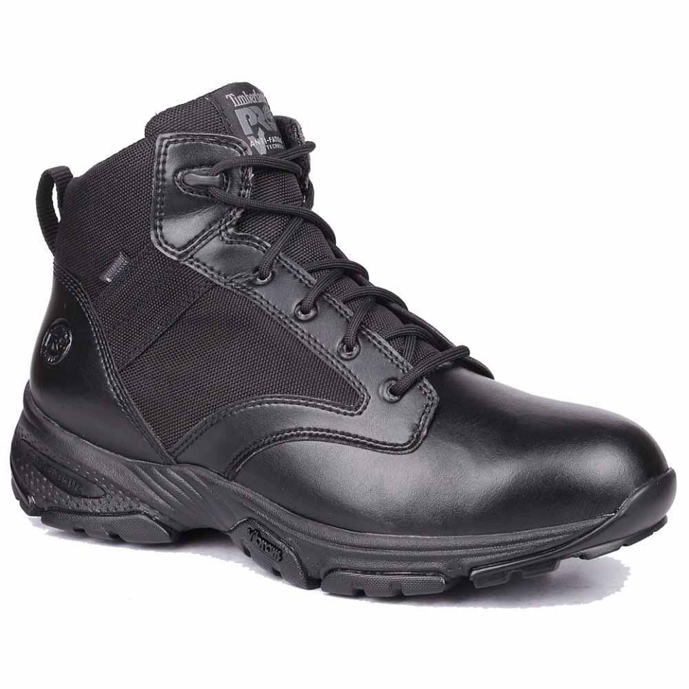 a736042e4e89 Lyst - Timberland 5 Inch Valor Tactical Soft Toe Waterproof Boots in ...