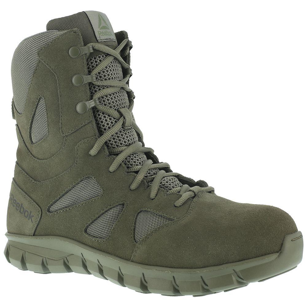 Lyst - Reebok Sublite Cushion Tactical Soft Toe in Green for Men ... 68ac95763