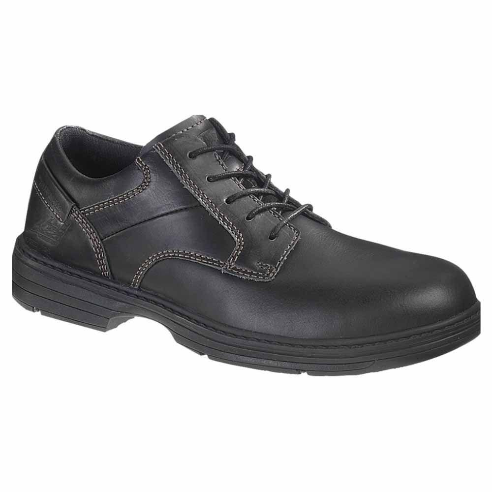 Caterpillar Shoes Caterpillar Oversee SD Steel Toe Mens Work Shoes Black