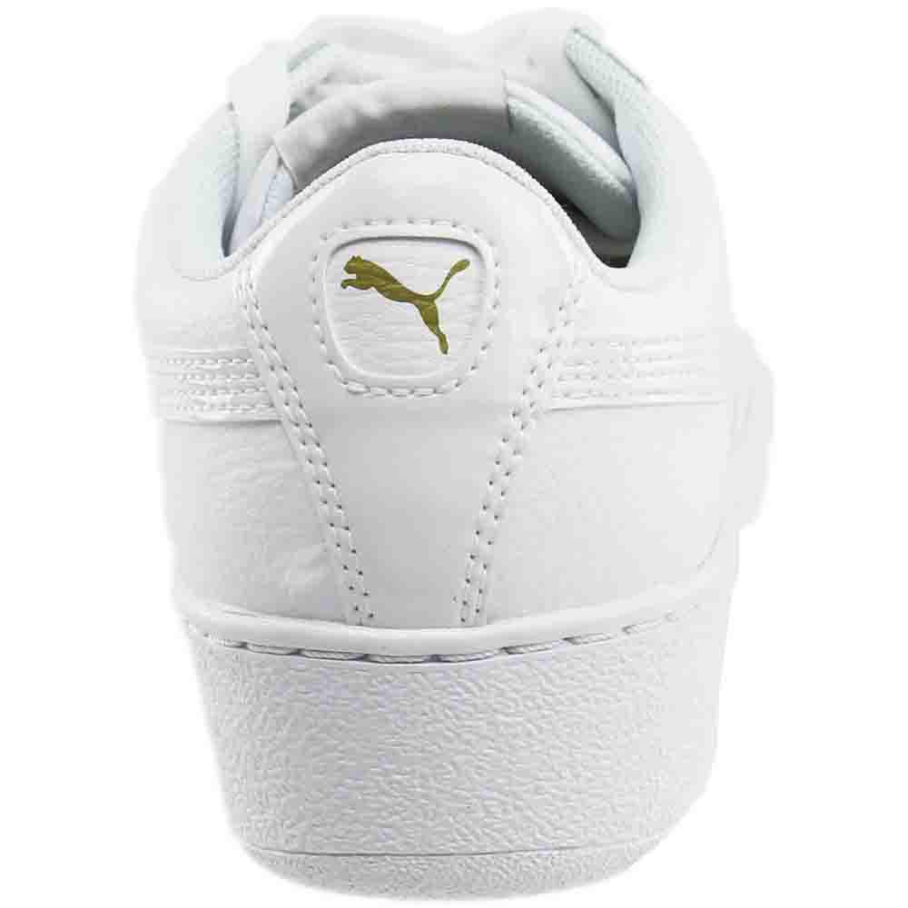 d41ef2856570 Lyst - PUMA Vikky Platform Leather in White