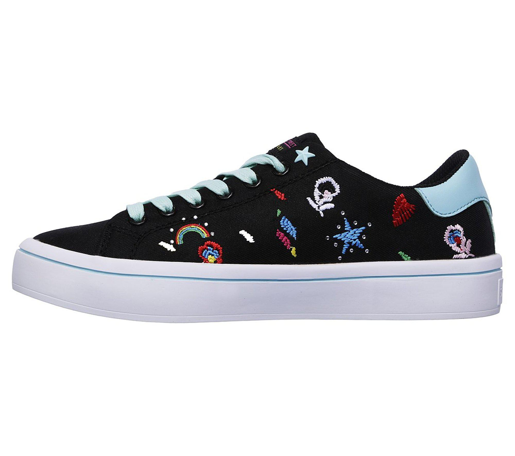 Cheap Good Selling Skechers Hi-Lites Doodle Book Sneaker(Women's) -Black/Multi Pay With Paypal Sale Online Outlet Classic Affordable zjapc