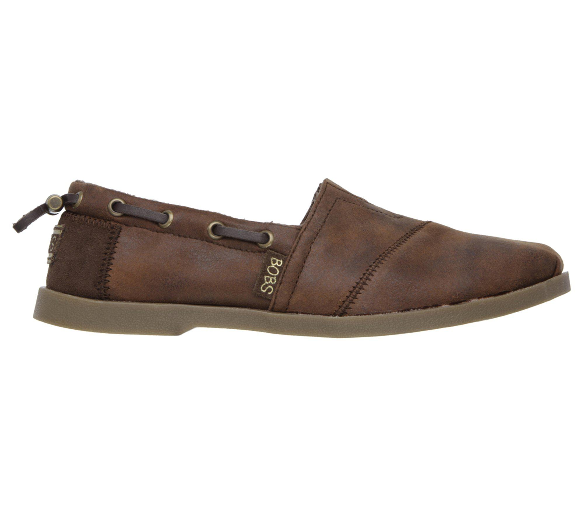 09153fbc8e4 Lyst - Skechers Bobs Chill Luxe - Buttoned Up in Brown - Save 46%