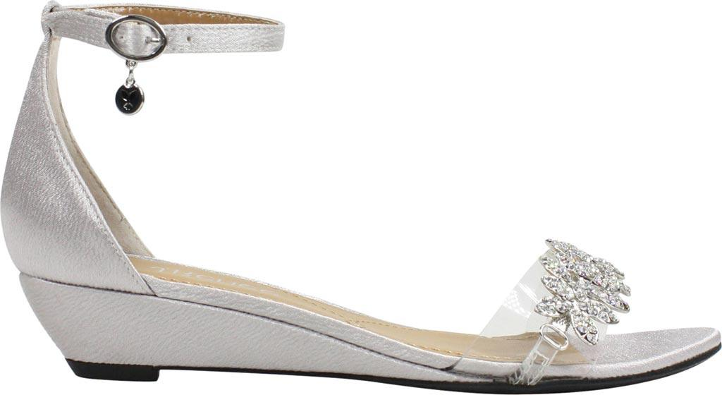 1d13879e918 Lyst - J. Reneé Eviana Ankle Strap Wedge Sandal in Metallic