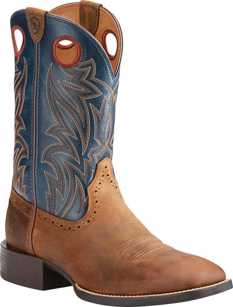 a821f97fe31 Lyst - Ariat Sport Sidebet Cowboy Boot in Blue for Men