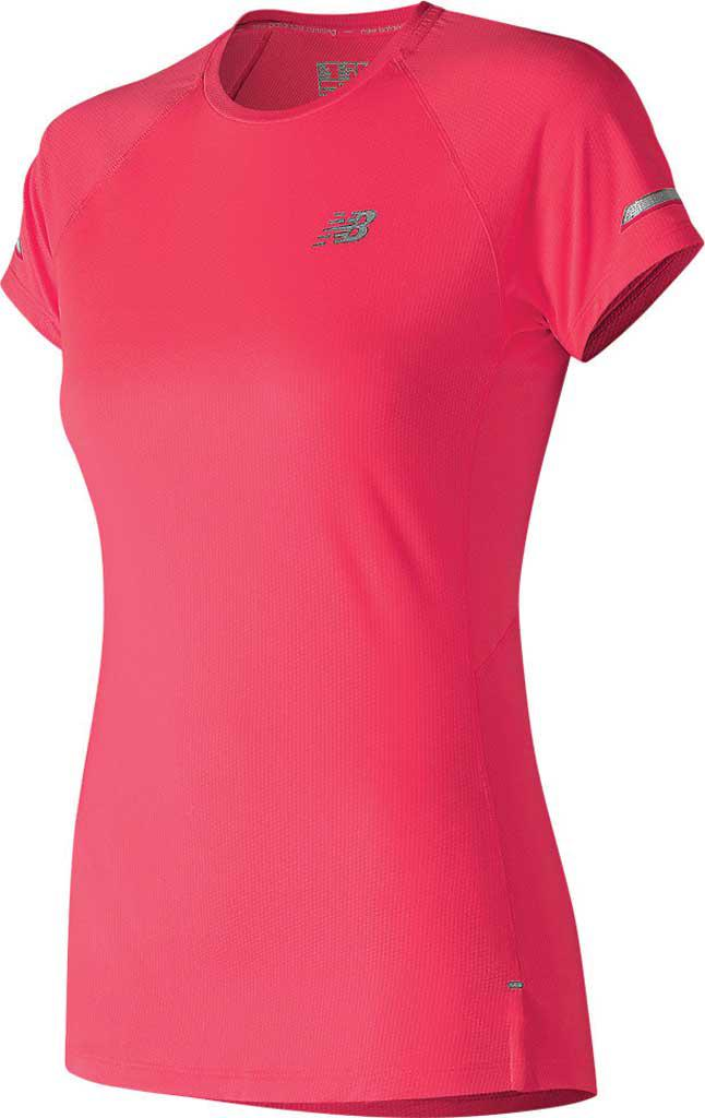 fed7864323001 Lyst - New Balance Wt81200 Ice 2.0 Short Sleeve Tee in Pink