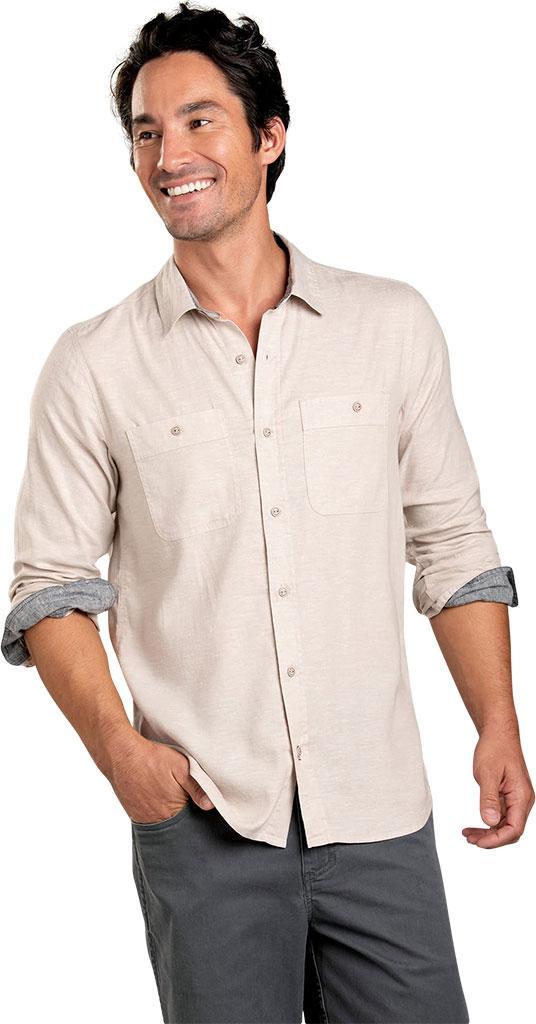 402586d8 Lyst - Toad&Co Taj Hemp Long Sleeve Slim Shirt in Natural for Men
