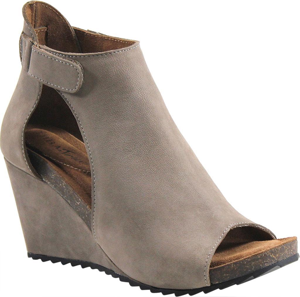 314686a035f1d4 Lyst - Diba True New Year Peep Toe Wedge in Brown
