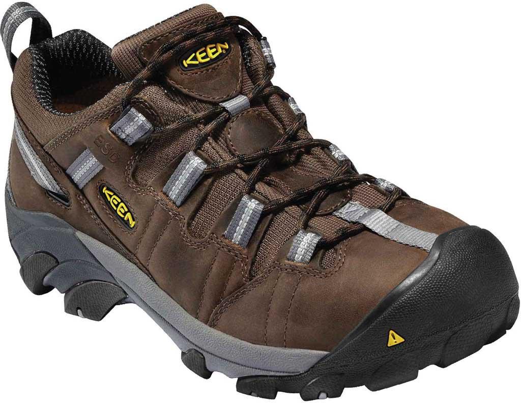 149375b774 Lyst - Keen Utility Detroit Low Steel Toe Work Shoe in Brown for Men