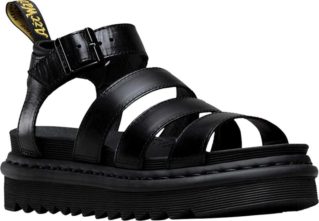 Dr. Martens Women's Vegan Blaire Strappy Flatform Sandals - /Black - UK 8