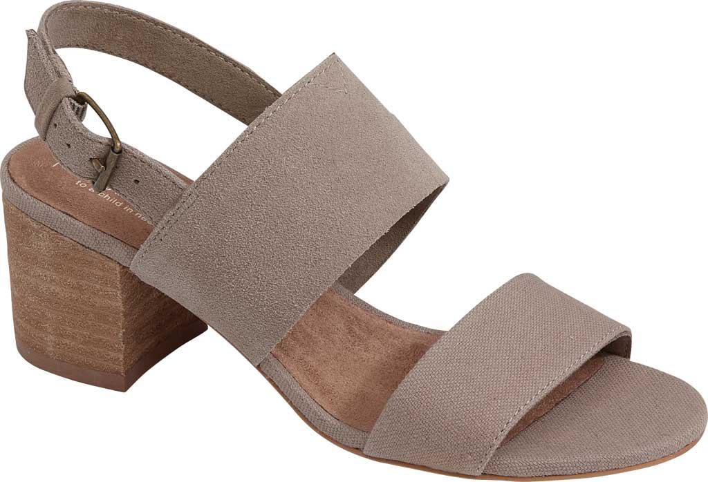 1db7a89c6 Lyst - TOMS Poppy Slingback Sandal in Brown