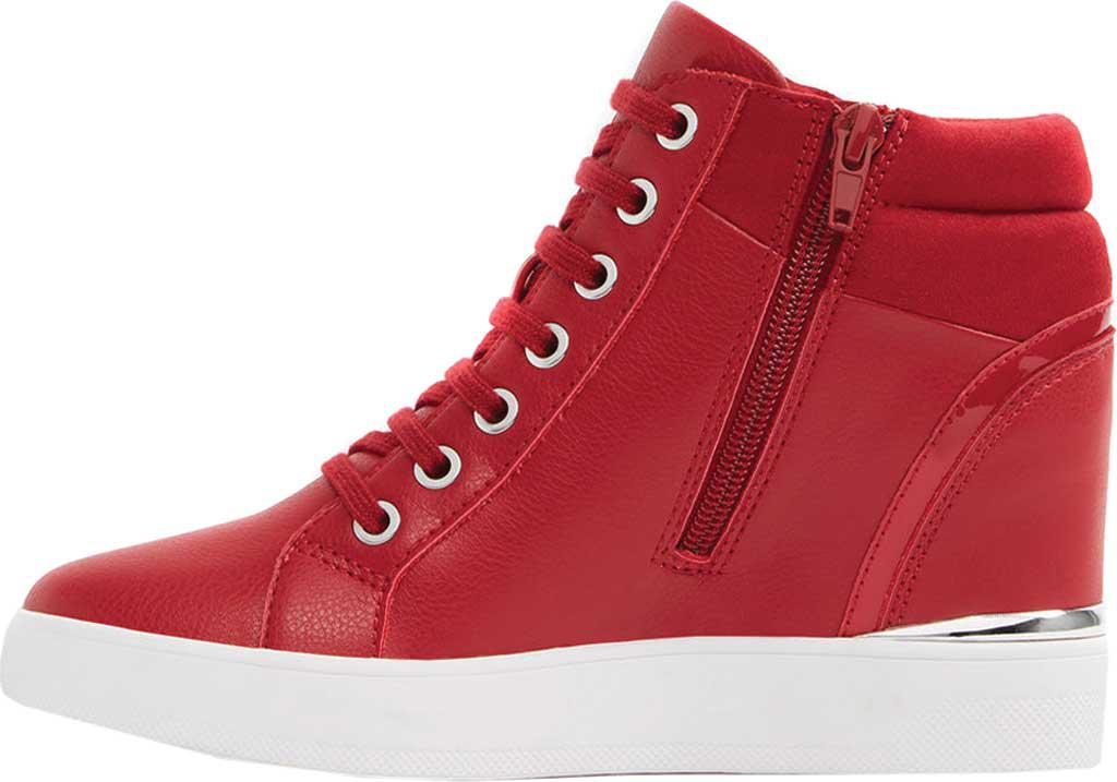69a529ac3181 Lyst - ALDO Ailanna Wedge Sneaker in Red
