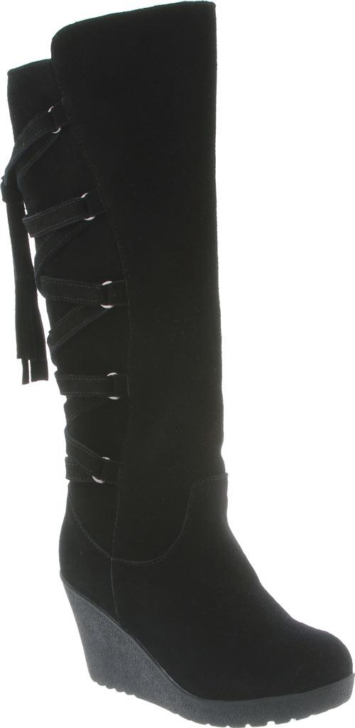 03d3f70f5a7 Lyst - BEARPAW Britney Knee-high Wedge Boot in Black