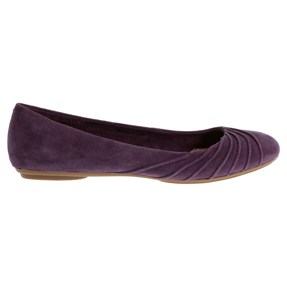 hush puppies zella chaste in purple plum suede lyst