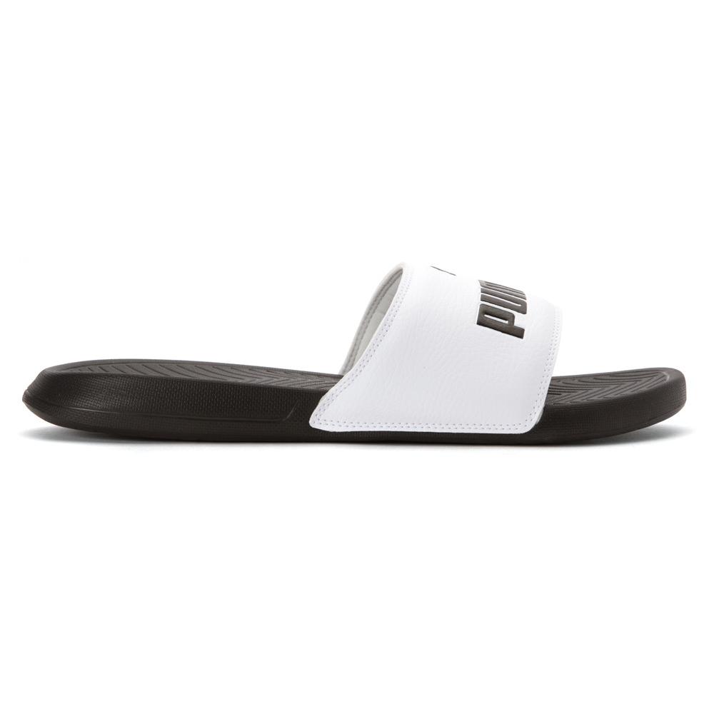 a81281f3c1bc68 Lyst - PUMA Popcat Slide Sandals in White for Men