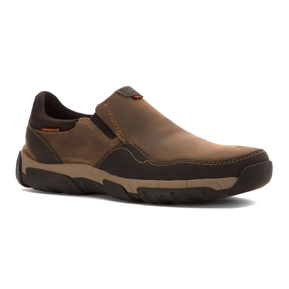 Clarks Men S Waterproof Walbeck Slip On Shoes