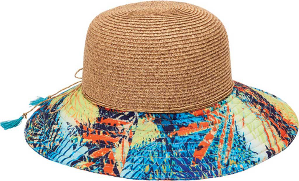 Lyst - San Diego Hat Company Sun With Novelty Print Wide Brim Hat ... 2c3376a2221a