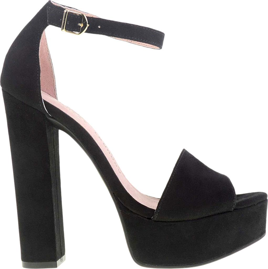 b0e2af781cd Chinese Laundry - Black Avenue Ankle Strap Platform Sandal - Lyst. View  fullscreen
