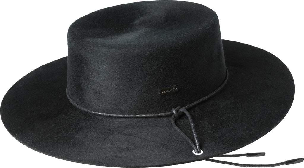 3d4a1fc5f50 Lyst - Kangol Tail Boater Fedora in Black for Men