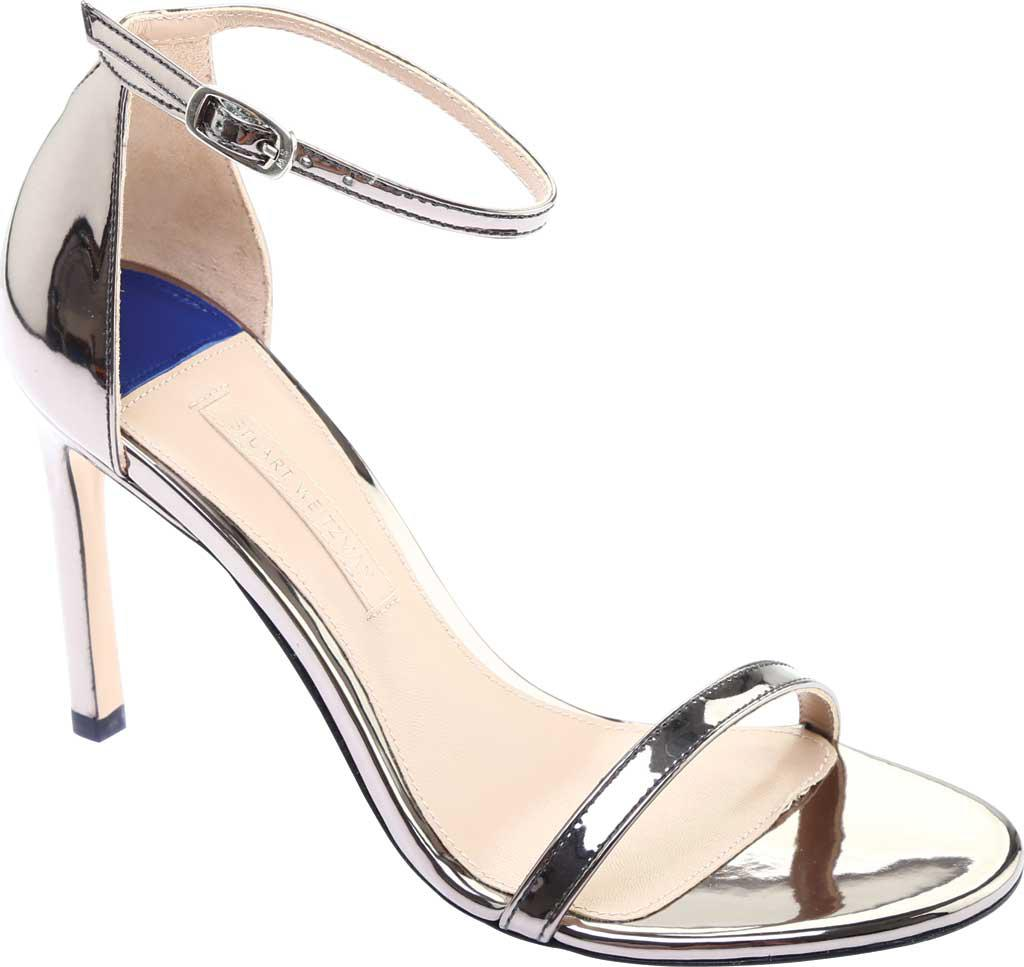 9e768c4436cd Stuart Weitzman Nudistsong Metallic Sandal in Metallic - Lyst