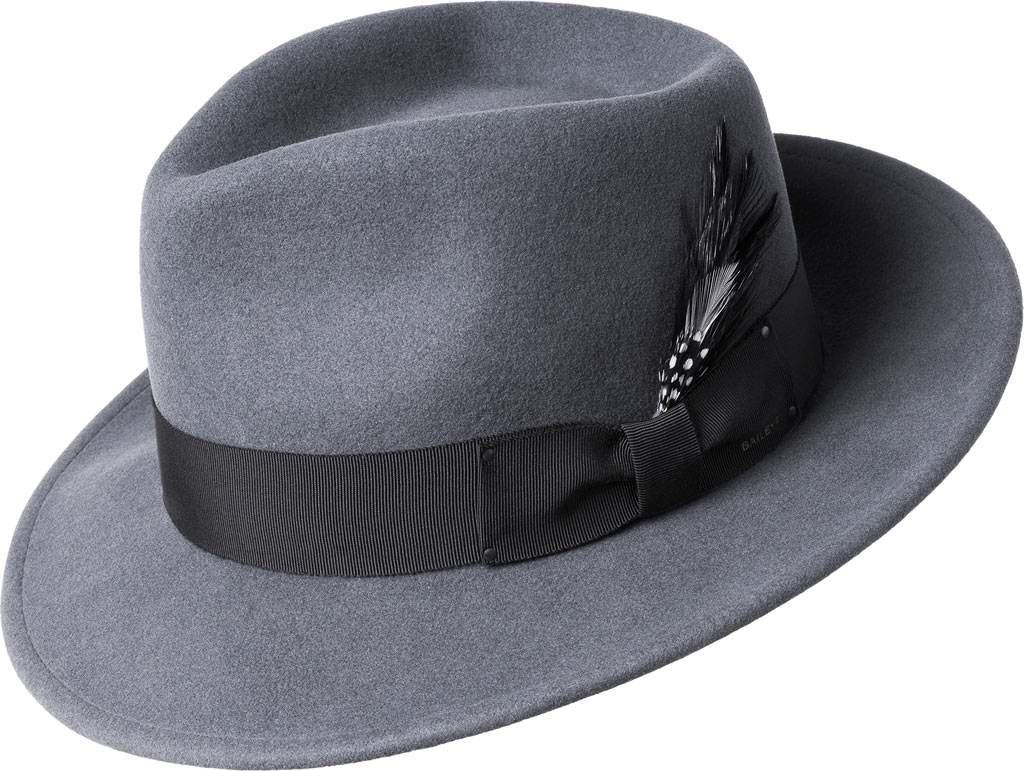 Lyst - Bailey of Hollywood Fedora 7002 in Gray for Men ccf2d807a9e