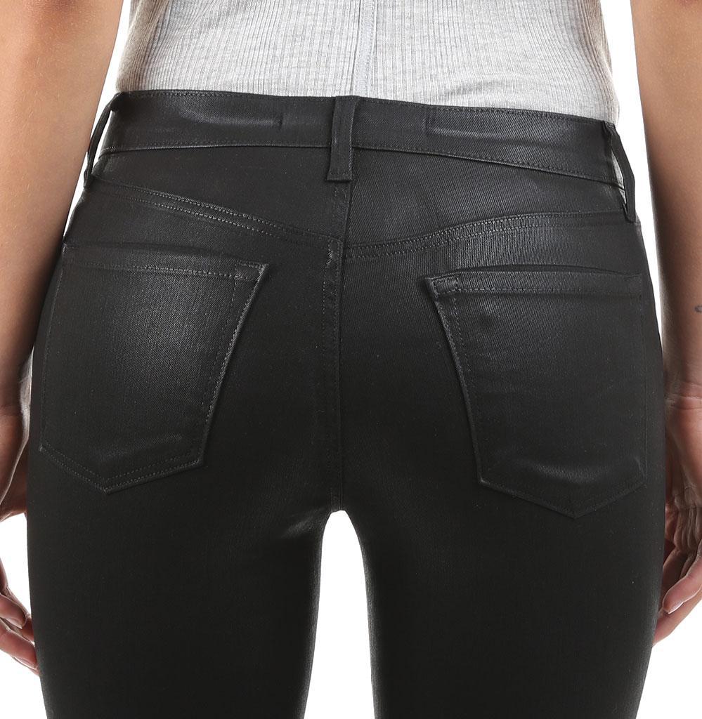 91ae3cb08a3a Lyst - J Brand 620 Mid-rise Super Skinny Jean In Fearless in Black