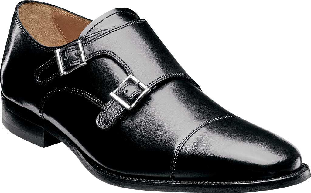 Florsheim. Men's Black Sabato Monk
