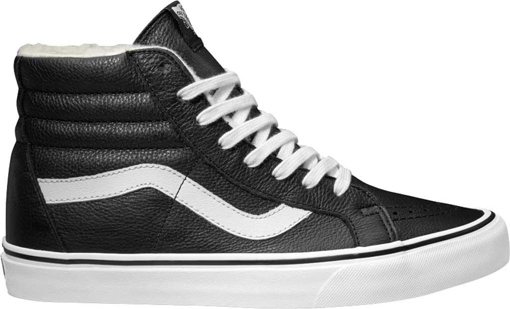 c6868c978b626f Lyst - Vans Premium Leather Sk8-hi Reissue High Top in Black for Men