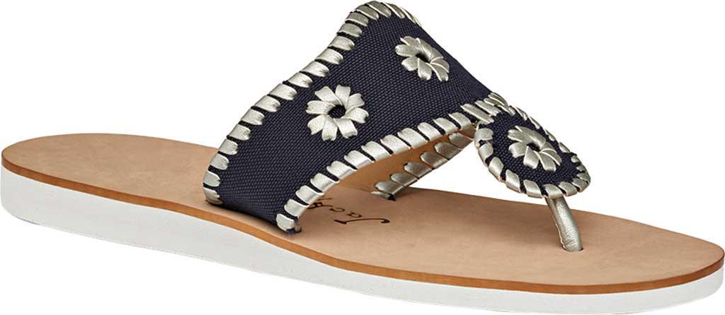 ea332f16aeae Lyst - Jack Rogers Captiva Thong Sandal in Blue
