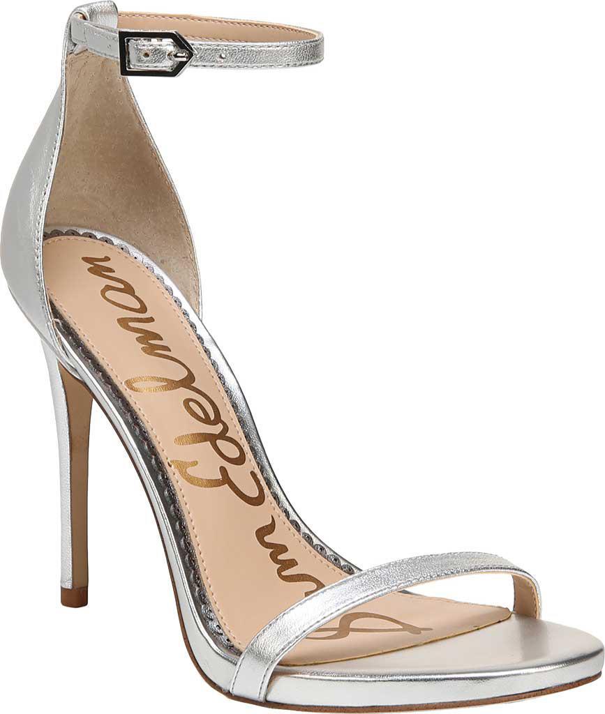 ee4c25c0a Sam Edelman. Women s Metallic Patti Ankle Strap Leather Dress Sandals