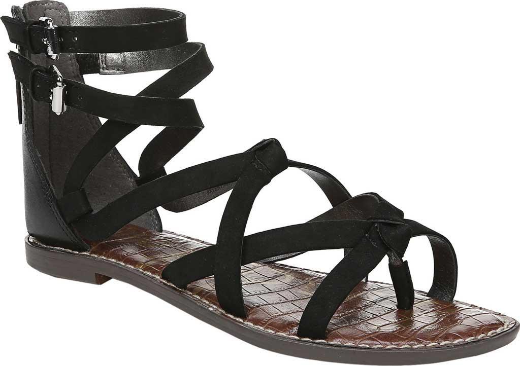 faf66b5241a1 Lyst - Sam Edelman Women s Gaton Gladiator Sandals in Black - Save 1%