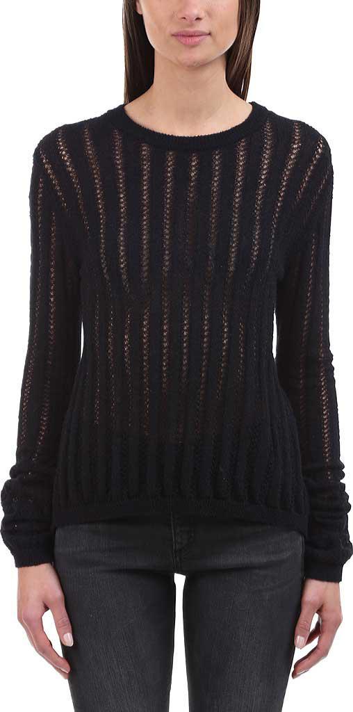 32878dbb61 Lyst - A.L.C. Miguel Split-back Lace-up Sweater in Black