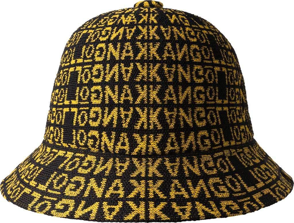 ea04d6fc7b5 Kangol - Black Jacquard Casual Bucket Hat - Lyst. View fullscreen