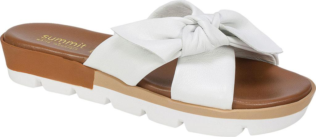 Summit White Mountain Fynn Slide(Women's) -Platinum Nappa Leather Pay With Visa Online Shop For Sale Cheap For Cheap Sale 2018 New ooZKw5