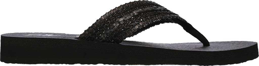0e0569c7d827 Lyst - Skechers Meditation Zen Summer Thong Sandal in Black