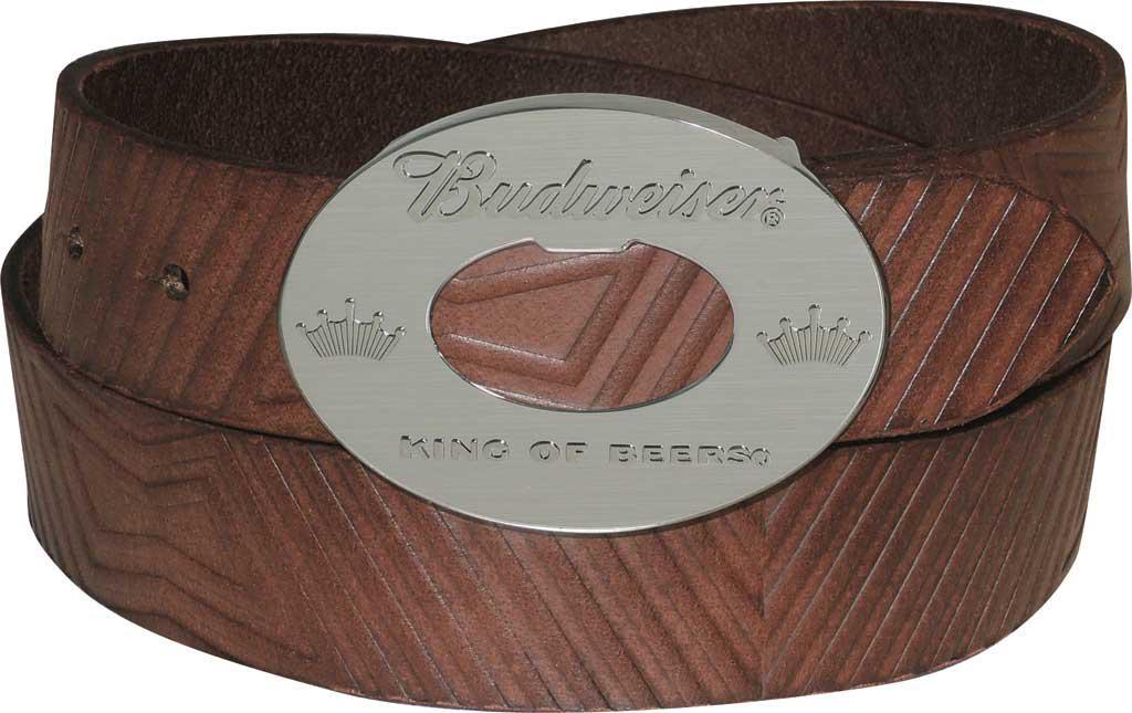 190633402a51 Lyst - Buxton Budweiser Bowtie Belt in Brown for Men