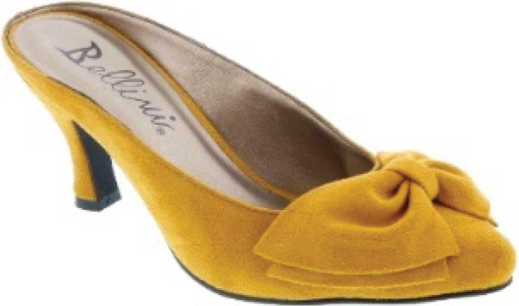 Bellini Cheer Bow Mule(Women's) -Yellow/Yellow Marigold Microsuede Marketable Fashionable For Sale okeJQZjsp