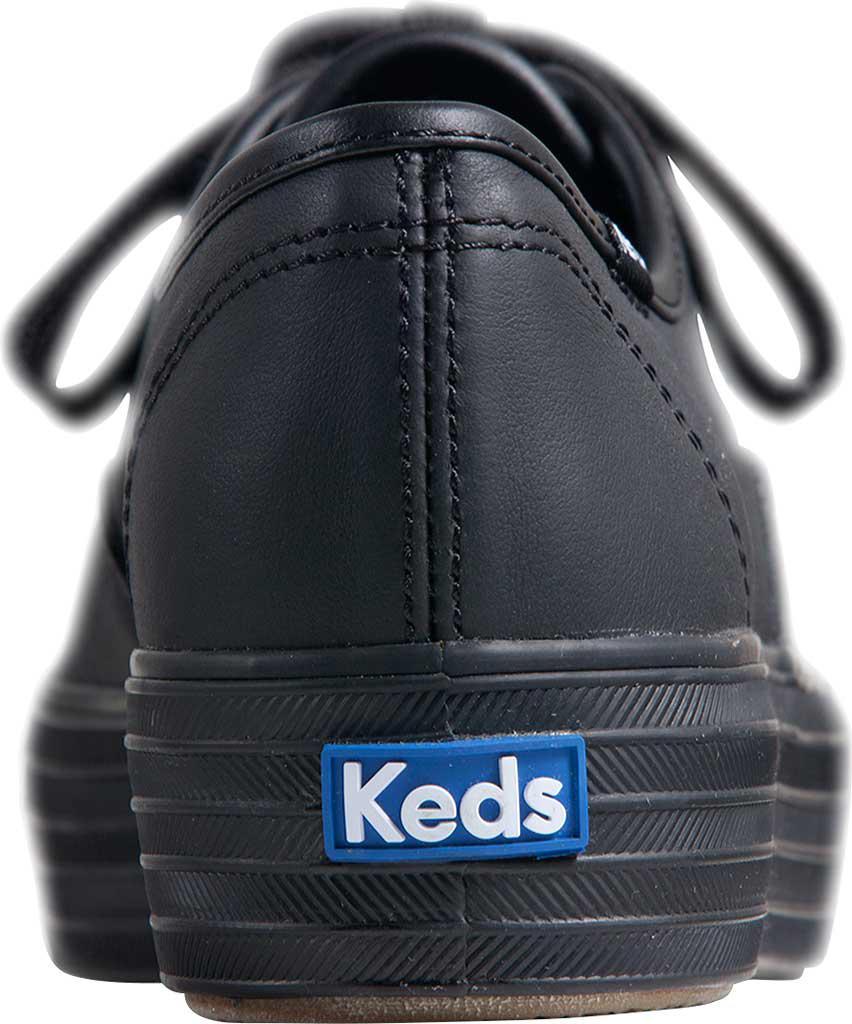 0f40bb0cf2385 Lyst - Keds Triple Leather Sneaker in Black