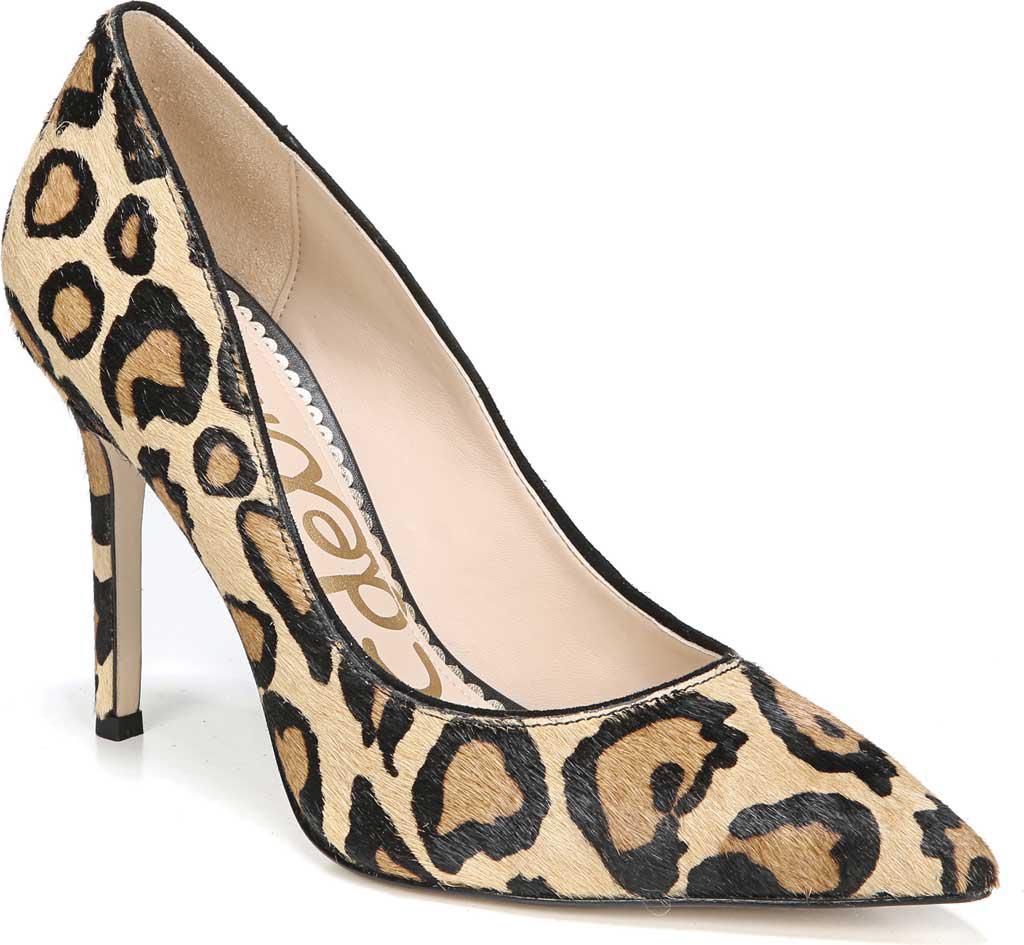 edacbd24cef1 Lyst - Sam Edelman Hazel Pointed Toe Stiletto Heel Pump in Natural
